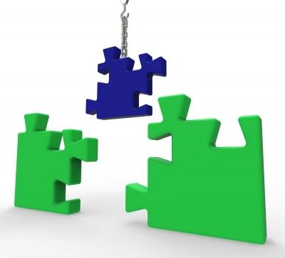"""Unfinished Puzzle Shows Solving Problems"" by Stuart Miles, freedigitalphotos.net"